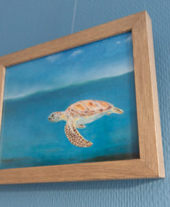 SurfArt surf art painting Turtle