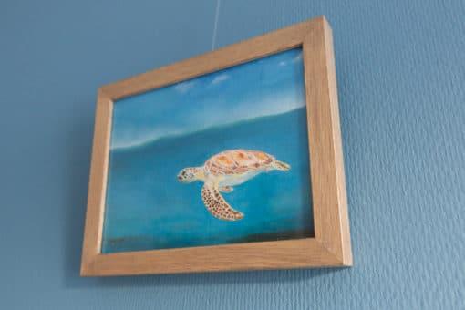 SurfArt surf art painting Turtle