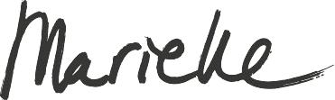Handtekening - Marieke Meijs Surfart