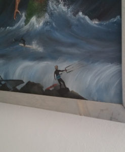 SurfArt painting Neptune
