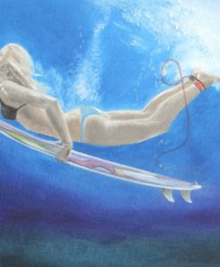surfart duck dive