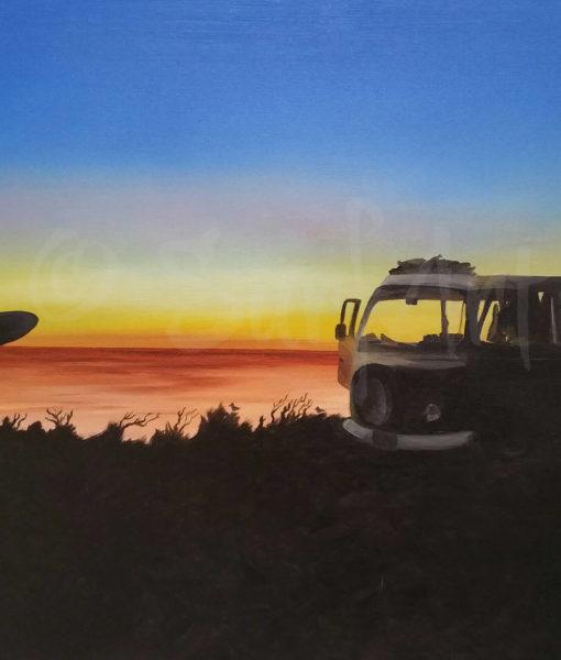 Surf Art - The Van