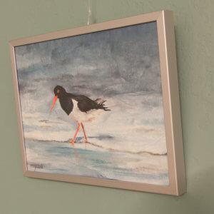 SurfArt painting Oystercatcher