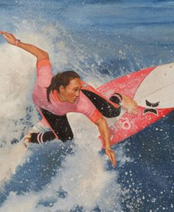 SurfArt painting Carissa
