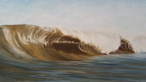 SurfArt painting Dutch barrels
