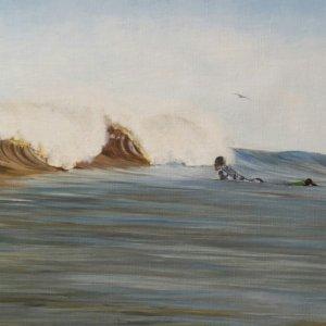 SurfArt painting Dutch barrels