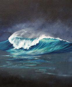 Aqua Darkness SurfArt