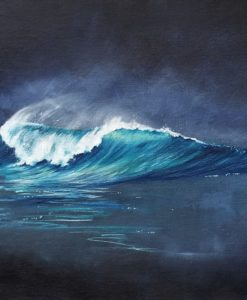 Aqua Darkness SurfArt