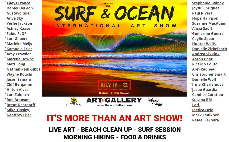 surfart surf and ocean international art show hilton alves