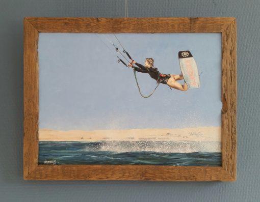 SurfArt Eva kitesurfer
