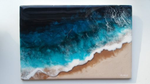surfart resin ocean